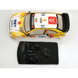 Lexan rally Xsara compatible Scalextric