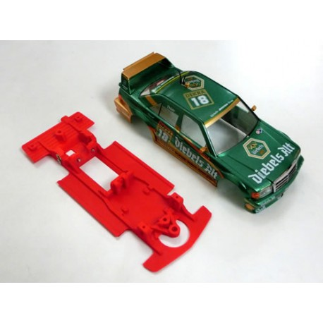 Chasis Mercedes 190E AW compatible Slot.it