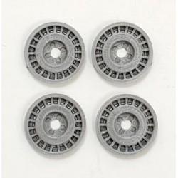 Tapacubos Metalic OZR-1 Titanio Silver 21mm escala 1/24