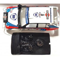 Lexan rally Fiesta compatible Scalextric