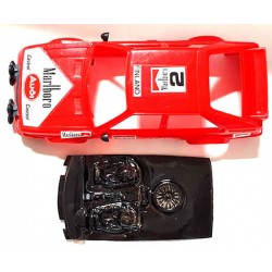 Lexan rally Delta Integrale compatible Scalextric