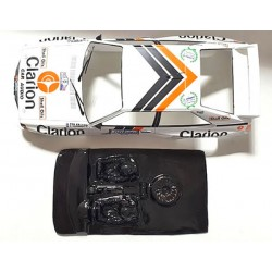 Lexan rally Audi Quattro compatible Scalextric