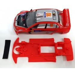 Chasis Mitsubishi Lancer Block Lineal compatible Ninco