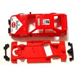 Chasis Audi Quattro Block AW compatible Scalextric