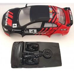 Lexan rally Subaru compatible Avat
