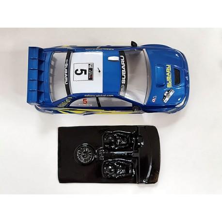 Lexan rally Subaru WRC ´06 compatible Ninco