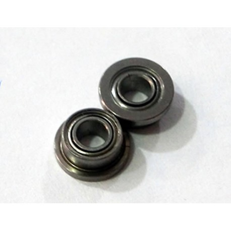 2 x rodamiento acero 2,38mm x 4,75mm pestaña simple