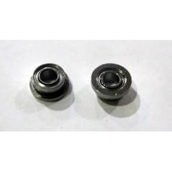 2 x rodamientos pestaña simple 2.38 x 4.75mm