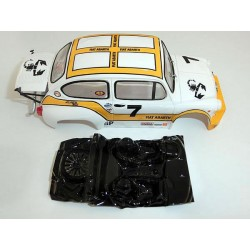 Lexan rally Abarth 1000 600 TCR compatible SCX