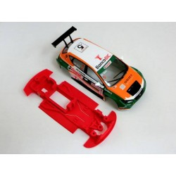 Chasis Leon MK3 Rally Block lineal Evo compatible SCX