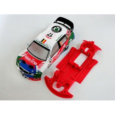 Fabia WRC rally lineal compatible SCX