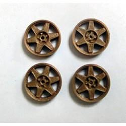 4 Tapacubos type Impreza (1) 15.8mm White Blancos