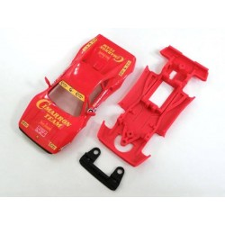 Chasis F-GTO AW simple compatible Scalextric