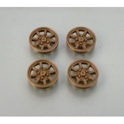 Tapacubos Minilite Titanio 15mm