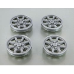 Tapacubos Minilite 15.8mm Silver
