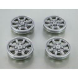 Tapacubos Minilite 15mm Silver