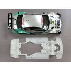 Chasis Mercedes C-Coupe DTM Pro Super Soft compatible con Scalextric