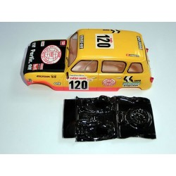 Lexan rally Renault 4L compatible Scalextric