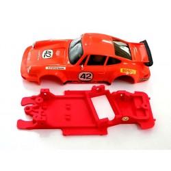 Chasis 911 Carrera Block AW Evo compatible SCX