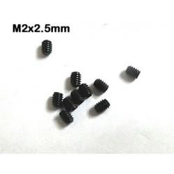 Esparragos tornillos prisioneros M2x2.5