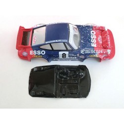 Lexan rally 911 Carrera compatible Scalextric