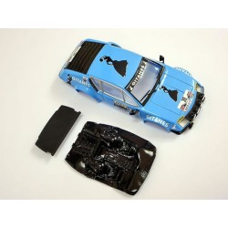 Soporte tonillos traseros + lexan rally Alpine A310 compatible Avan