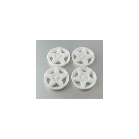 Tapacubos Speedline 15.5mm White compatible Scaleauto