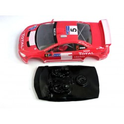 Lexan rally Peugeot 207 compatible Ninco